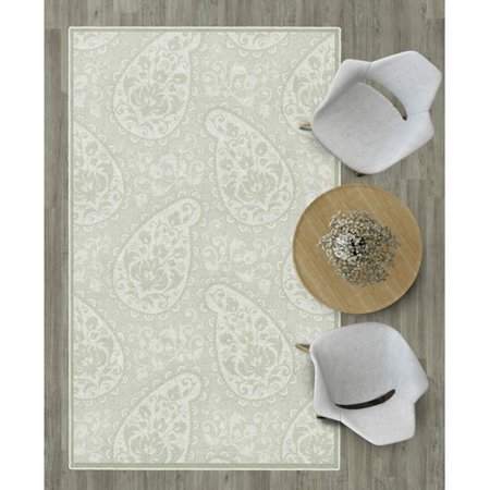 Ophelia Co Cragmont Paisley And Pastel Floral Beige Area Rug