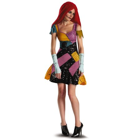 Nightmare Before Xmas Costumes (The Nightmare Before Christmas Sally Glam Adult)