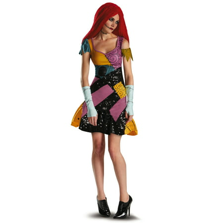 The Nightmare Before Christmas Sally Glam Adult - Halloween Costumes Nightmare Before Christmas