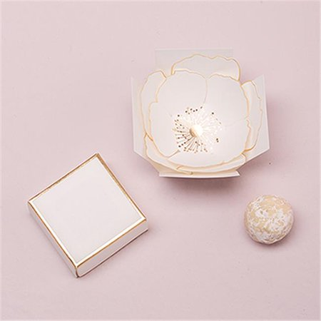 Wedding Star 4428-55 Surprise Bloom Favor Box - Paper Floral Favor Boxes