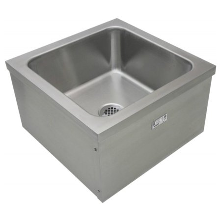 ACE SE2024FM Stainless Steel Floor Mount Mop Sink, 20