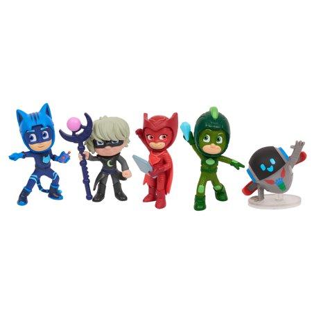 PJ Masks Super Moon Adventure Collectible Figures - 5 Pack