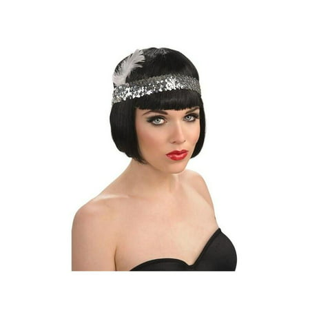 Sequin Flapper Headpiece - Blue Headpiece