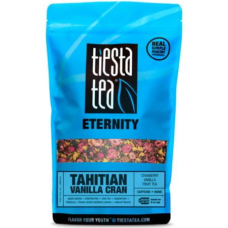 Tiesta Tea Eternity, Tahitian Vanilla Cran, Loose Leaf Herbal Tea Blend, Caffeine Free, 1 Lb Bulk Bag