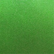 Best Creation 12 x 12 in. Green Glitter Cardstock, 15 Sheets Per Pack