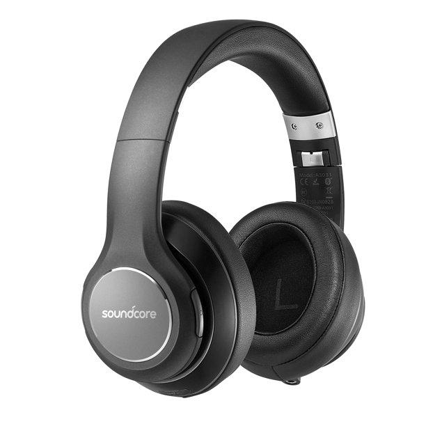 Over Ear Headphones Soundcore Vortex Wireless Headset By Anker 20h Playtime Deep Bass Hi Fi Stereo Earphones For Pc Phone Walmart Com Walmart Com