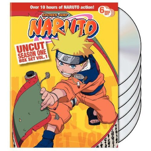Naruto Uncut: Season One Box Set, Vol. 1 (Full Frame)