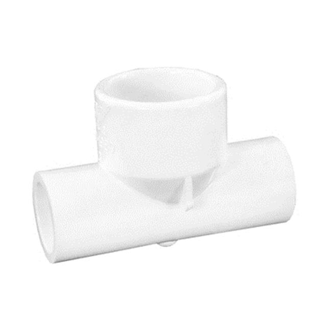 Waterway Plastics WW4131980 0.5 in. Socket x 1 in. Socket Tee Reducer - image 1 of 1