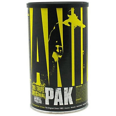 Universal Nutrition Animal Pak Sports Nutrition Supplement, 44 - Universal Nutrition Animal Pak