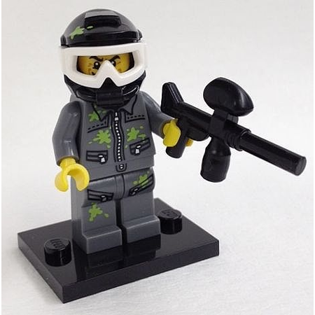 Ego Paintball (LEGO Collectible Series 10 Paintball Player Minifigure - Complete Set)