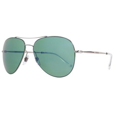 e67dc710f5324 Gucci - Gucci Aviator Sunglasses GG2245S 6LBHZ Ruthenium 2245 - Walmart.com