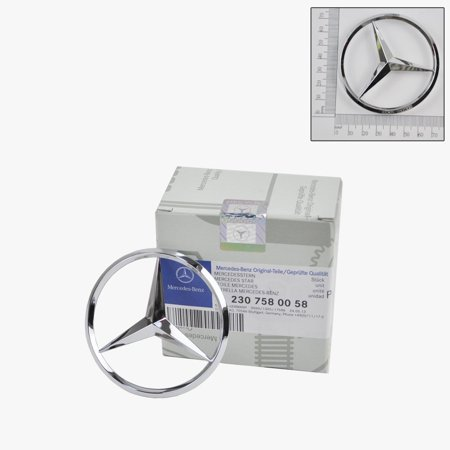 Mercedes-Benz Trunk Lid Star Emblem Badge original Original 2300058
