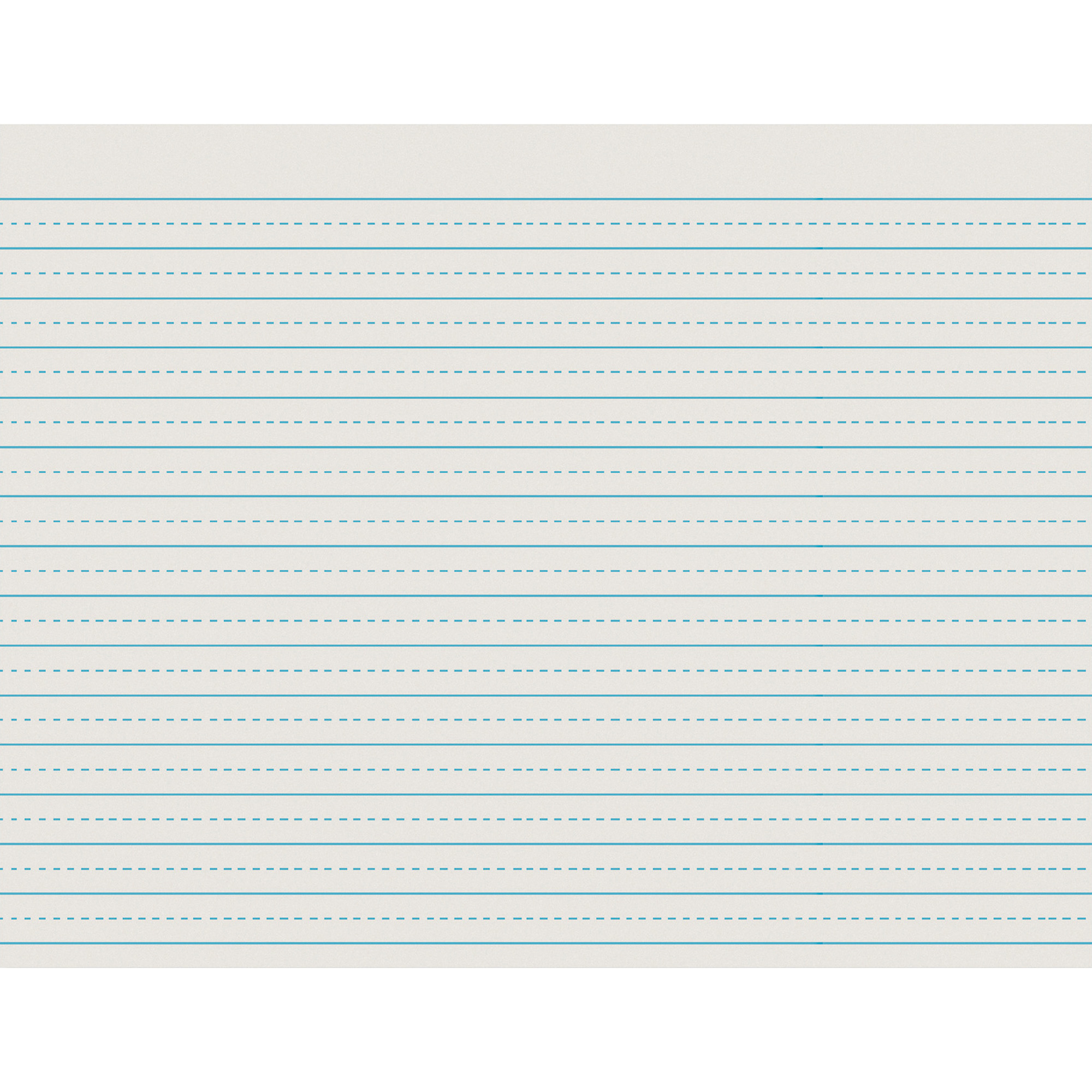 """Pacon Newsprint Handwriting Paper, Alternate Dotted, 11"""" x 8.5"""", Ruled Long, 500 Sheets"""