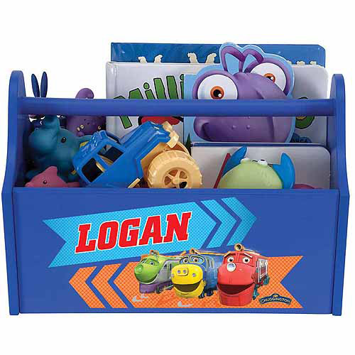 Personalized Chuggington Trainees Royal Blue Toy Caddy