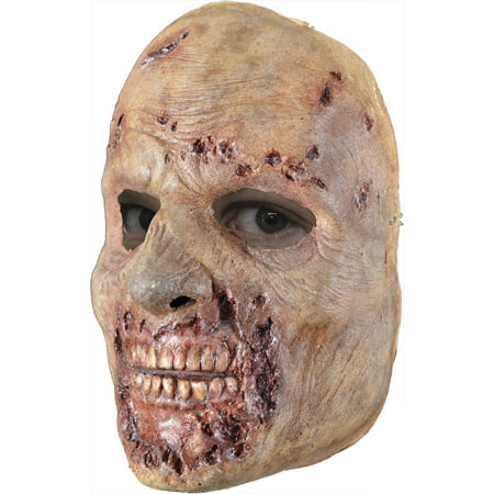 Rotted Walker Latex Face Mask Adult Halloween Accessory - Halloween Latex Applications