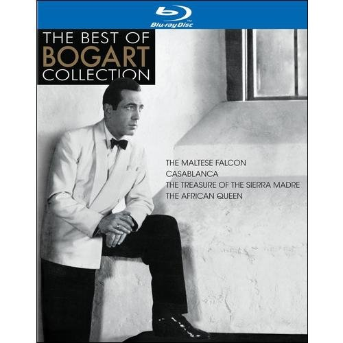 The Best Of Bogart Collection: The Maltese Falcon / Casablanca / The Treasure Of The Sierra Madre / The African Queen (Blu-ray) (Full Frame)