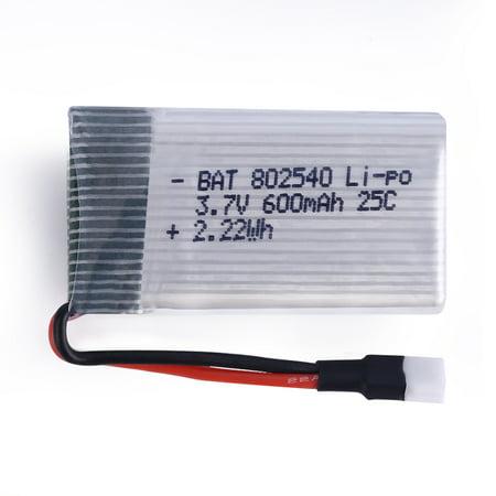 3 7V 600Mah 25C Lipo Battery Spare Parts For Syma X5 X5c H5c X5sc X5a Rc Quadcopter