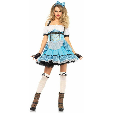 Leg Avenue 3-Piece Rebel Alice Adult Halloween Costume