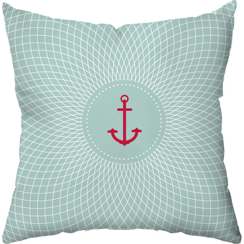 Checkerboard, Ltd Captain's Comfort Throw Pillow