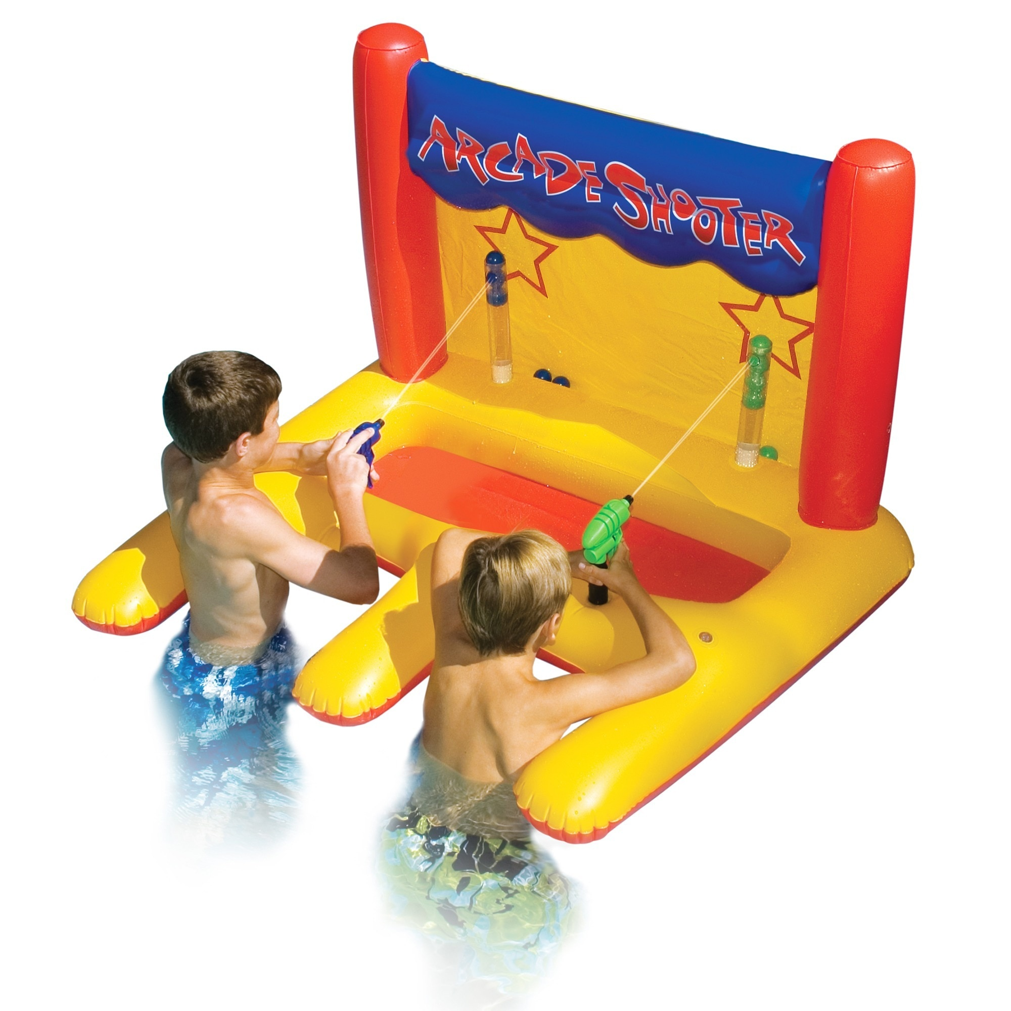 Swimline Dual Arcade Shooter Inflatable Pool Toy by Overstock