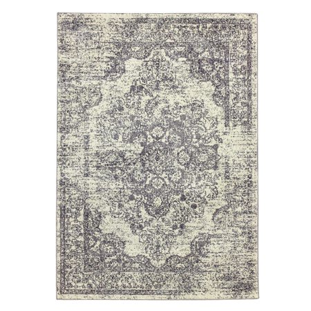 Medallion Rug - Better Homes and Gardens Distressed Interwoven Medallions 5x7 Area Rug