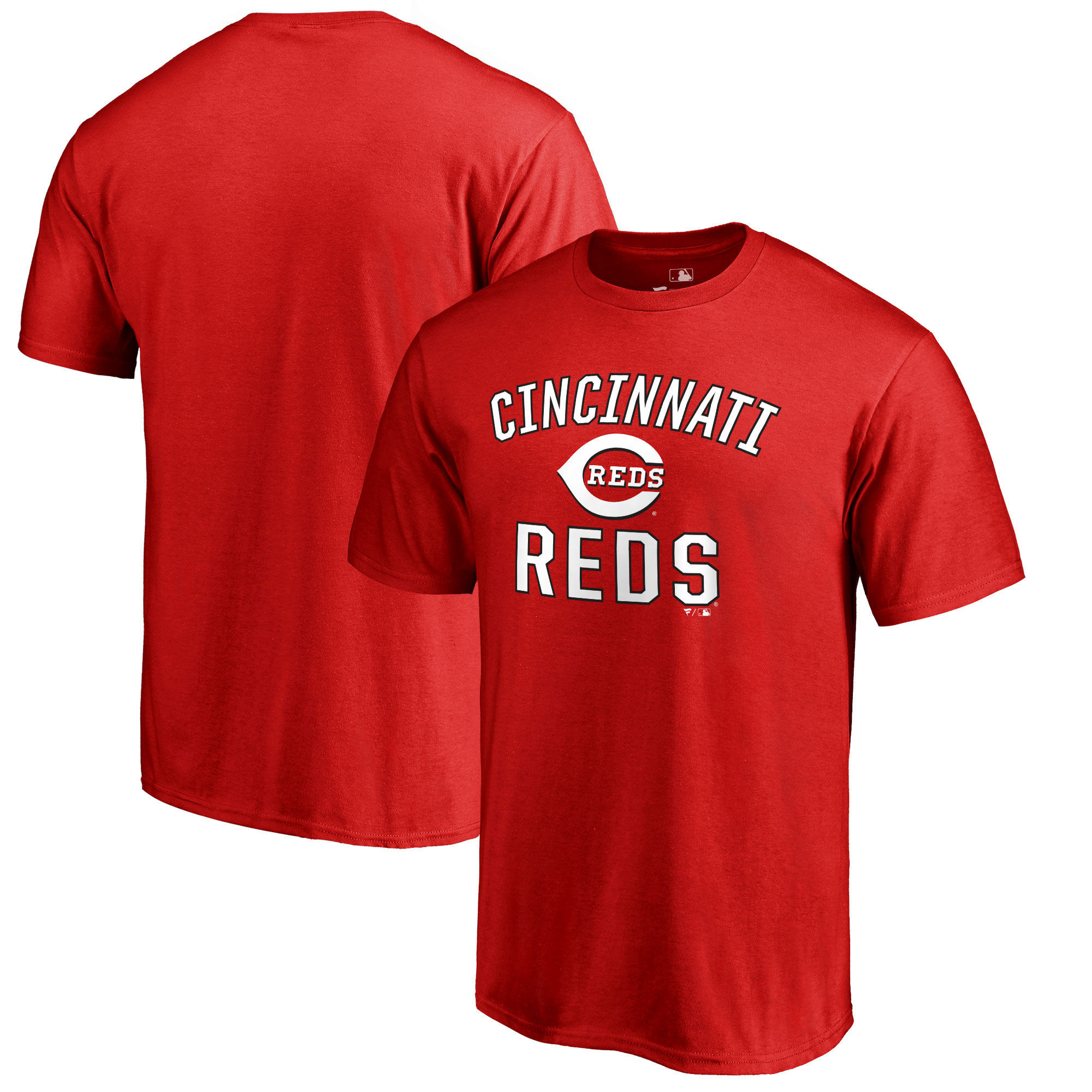 Cincinnati Reds Fanatics Branded Victory Arch T-Shirt - Red