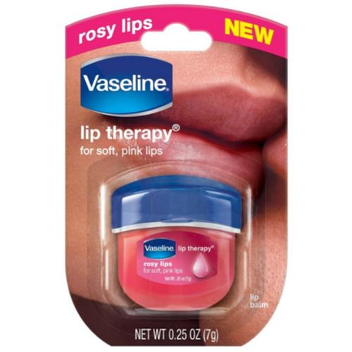 Vaseline Lip Therapy, Rosy Lips 1 ea (Pack of 2)