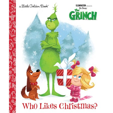 Who Likes Christmas? (Illumination's the Grinch) (Hardcover)