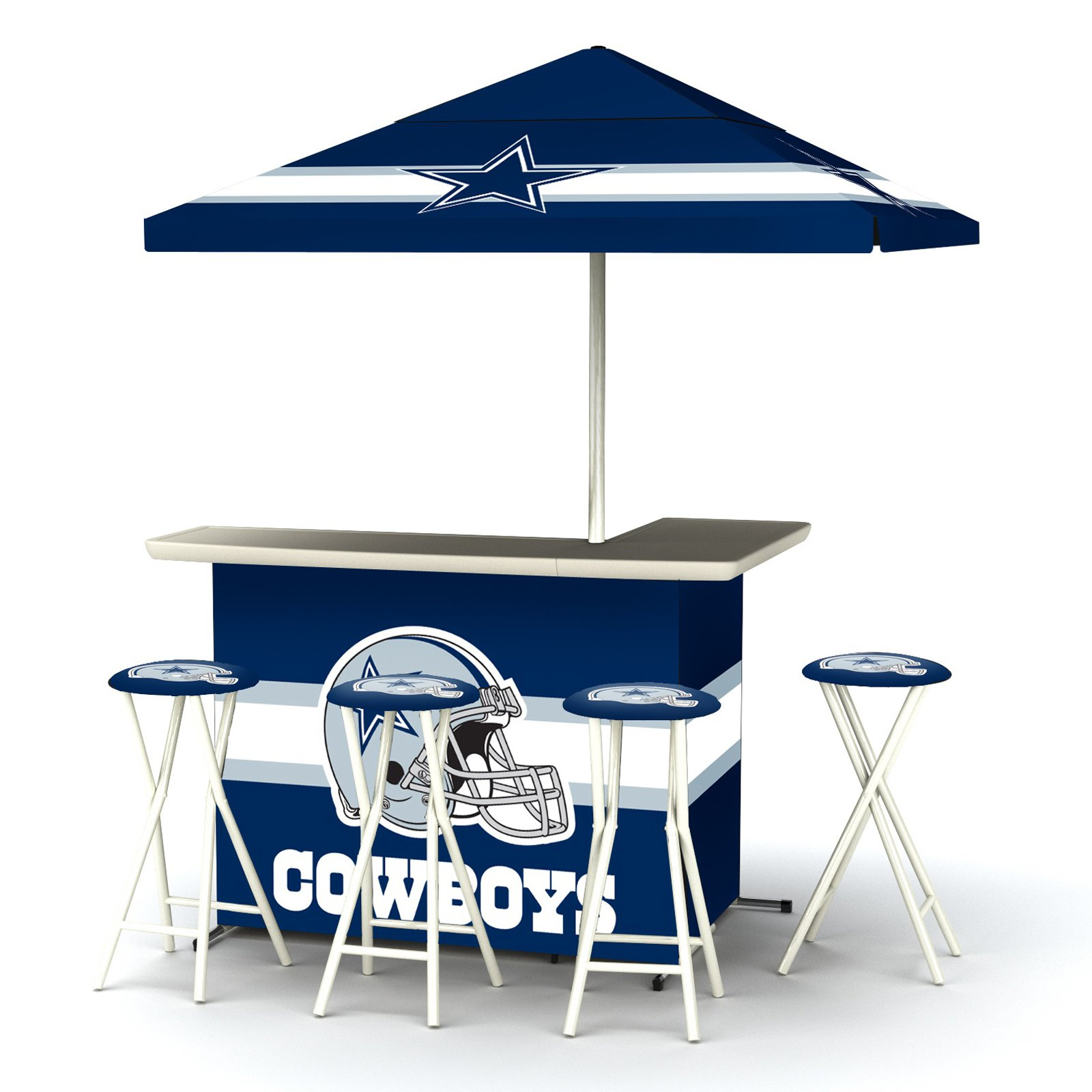 Best of times indooroutdoor nfl portable bar with 4 barstools best of times indooroutdoor nfl portable bar with 4 barstools walmart watchthetrailerfo
