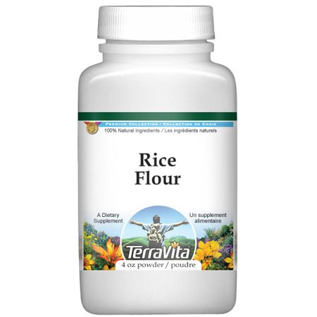 Rice Flour Powder (4 oz, ZIN: 521317) - 2-Pack (Difference Between Rice Flour And Rice Powder)