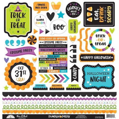 Doodlebug Cardstock Stickers 12