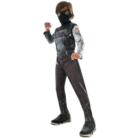 Black Widow Winter Soldier Costume (Civil War Winter Soldier Child)