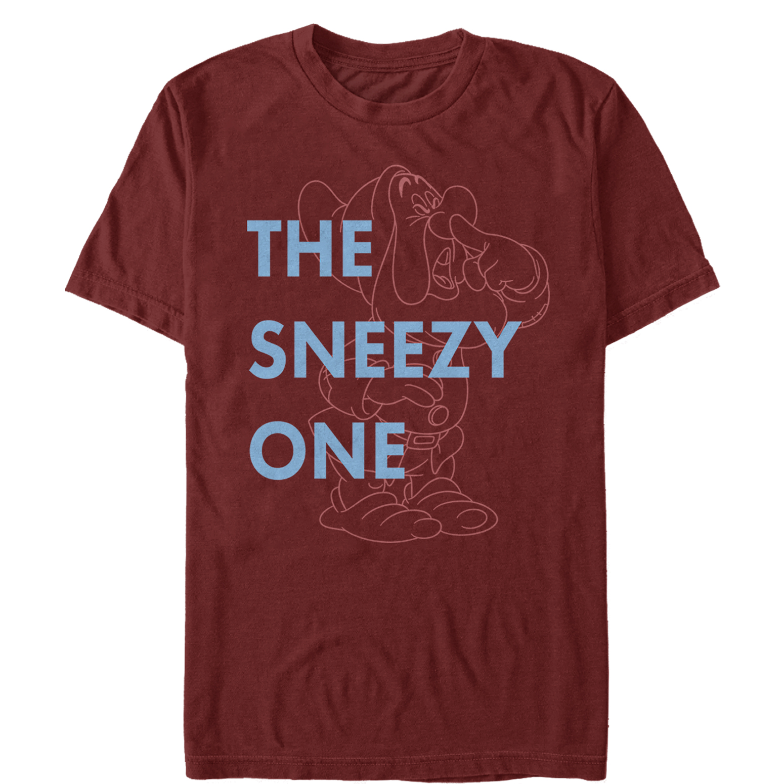 Snow White and the Seven Dwarves Men's Sneezy One T-Shirt