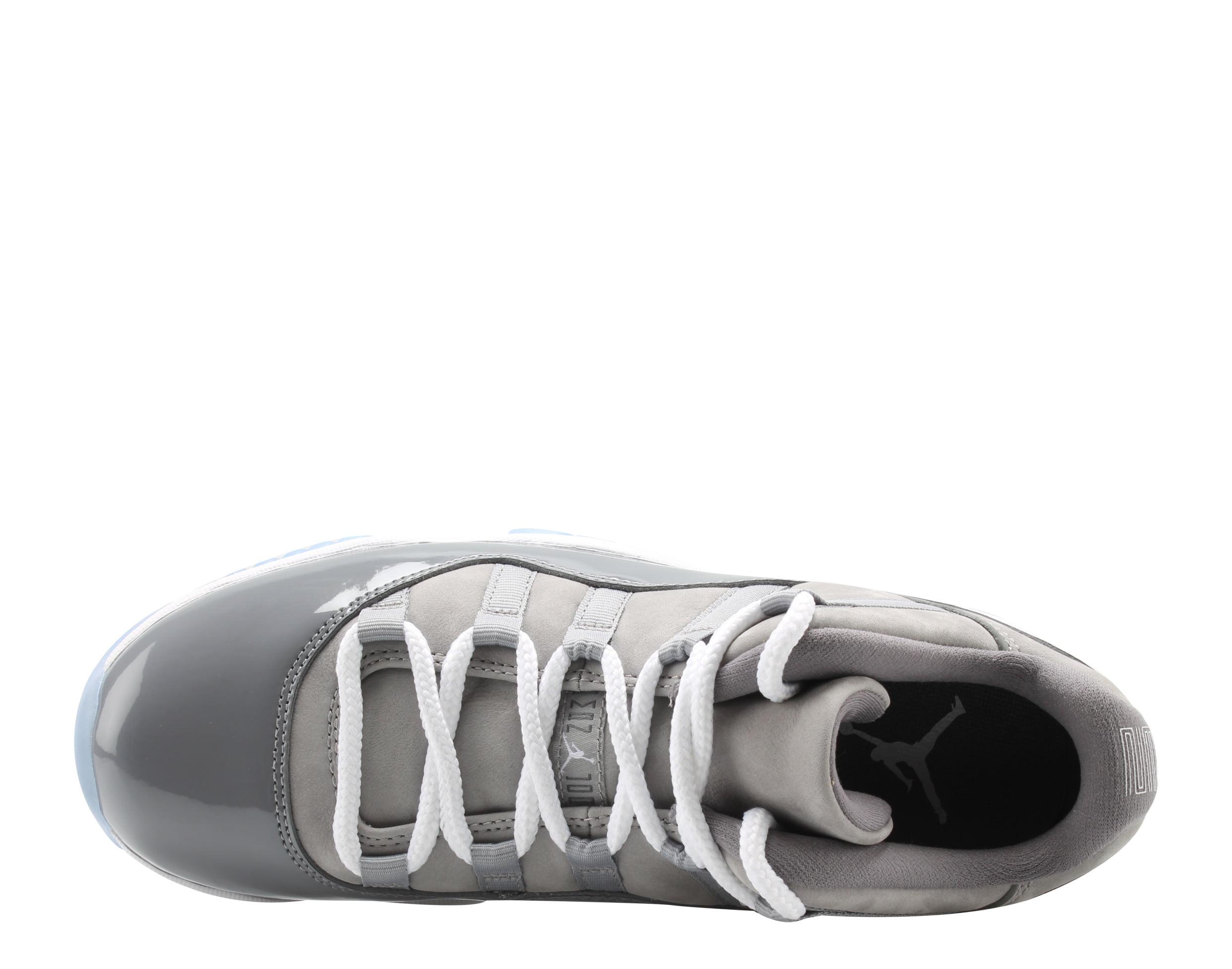 Nike Air Jordan 11 Retro Low Cool Grey Men's Basketball Shoes 528895-003