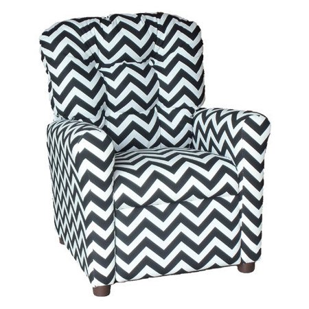 brazil furniture zig zag kids recliner