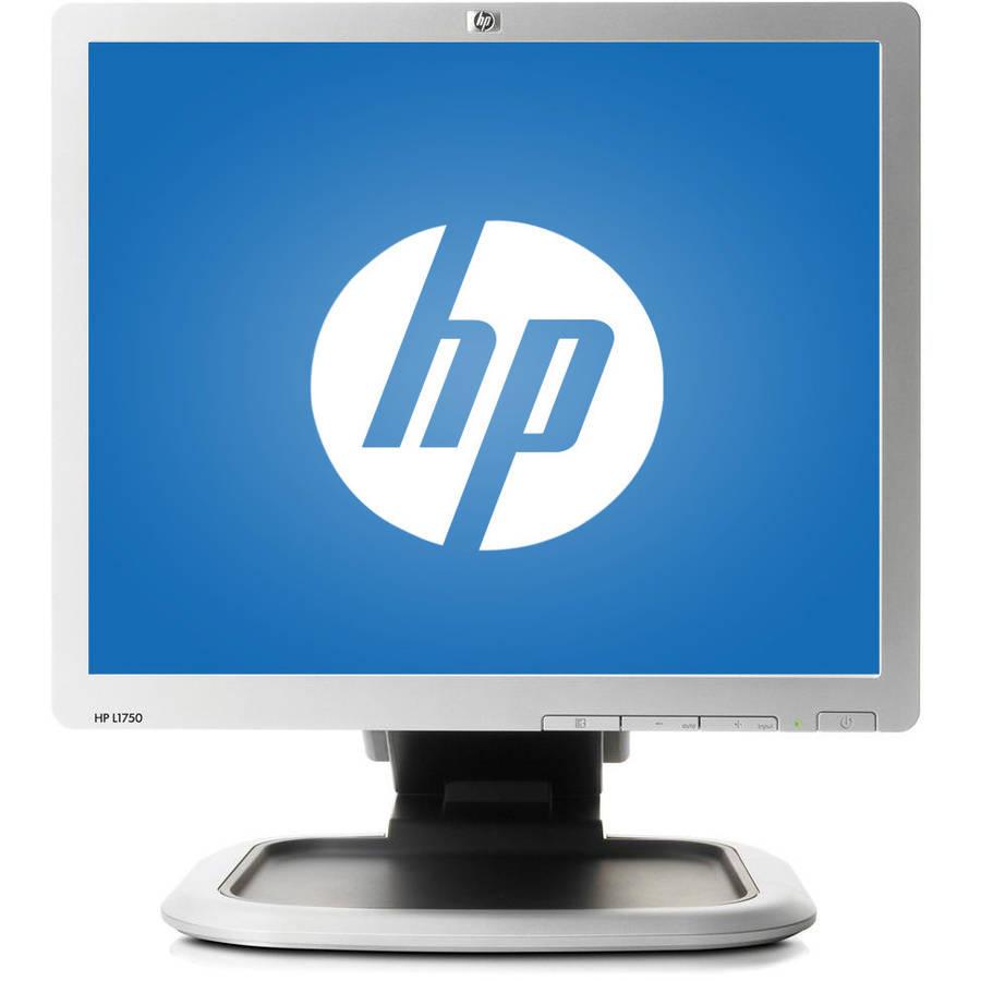 """Refurbished HP 17"""" LCD Monitor (Mixed Silver/Black)"""