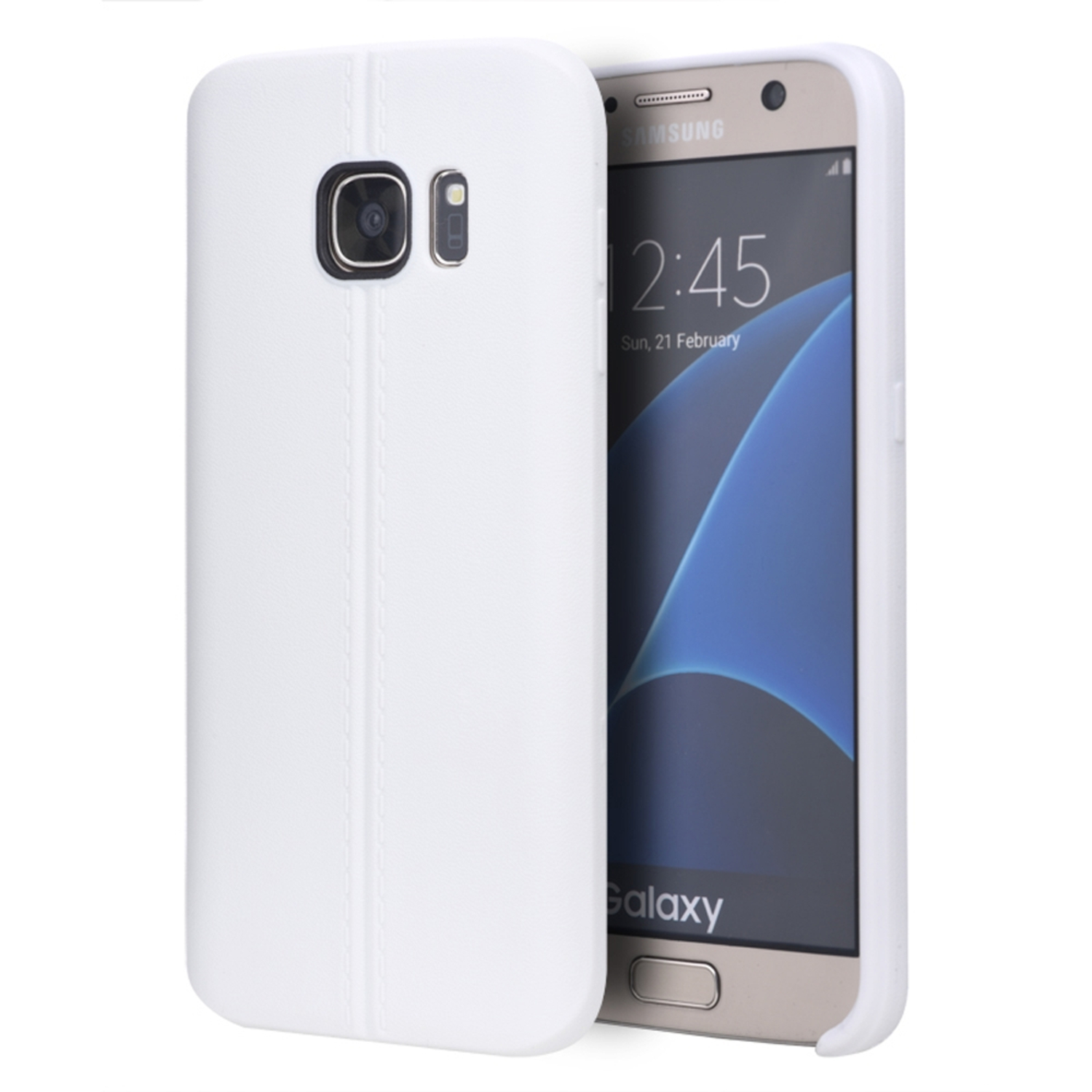 Samsung Galaxy S7 Case, by Insten Rubber TPU Case Cover For Samsung Galaxy S7