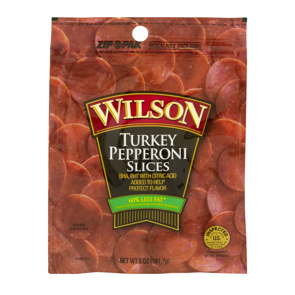 Wilson Pepperoni Slices Turkey, 5.0 OZ