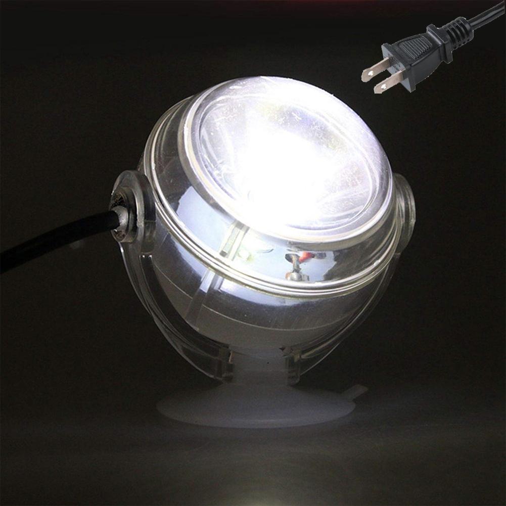 Mini Underwater Lamp Submersible Aquarium Light Waterproof LED 1W