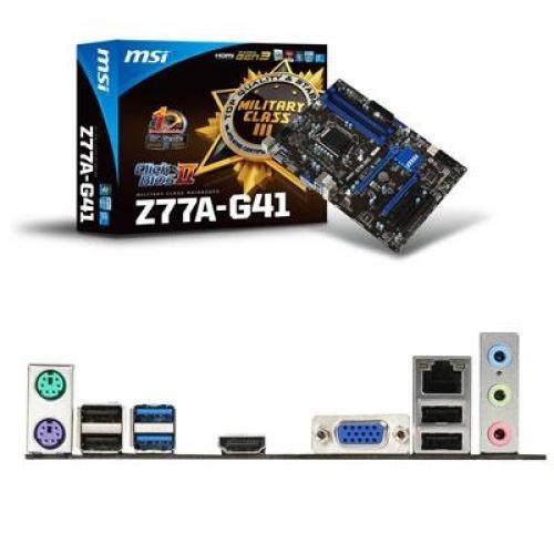 MSI Z77A-G41 Desktop Motherboard