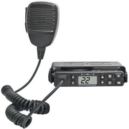 Midland Mxt100 40 Mile Micromobile Fixed Mount Gmrs 2 Way Radio With Magnetic Mount Antenna
