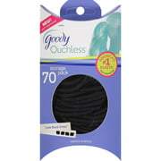 Goody Ouchless Little Black Dress Gentle Elastics, 70 count