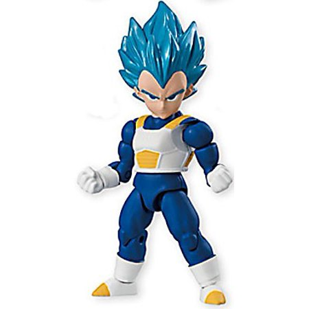 Dragon Ball Z 66 Action Suoer Sayian God Super Sayian Vegeta Action