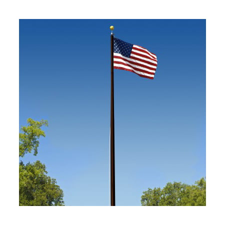 Super Tough Commercial Grade Sectional 25 ft. Flagpole - Bronze
