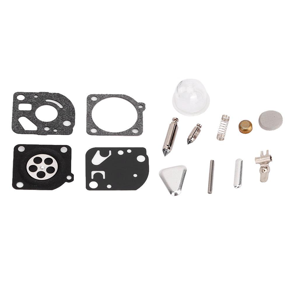 QAZAKY 10pcs Carburetor Diaphragm Gasket Rebuild Repair Kit Replacement for Zama RB-47 C1U-W10 C1U-W12 C1U-W13 C1U-W16 C1U-W22 C1Q-E3 C1Q-E4 C1Q-E6 C1Q-E6A C1Q-W31 C1Q-W34 W35 W36 W37 W38 W39 W40 W41