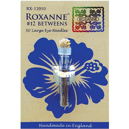 Roxanne Sharps Hand Needles, 50/Pkg Colonial Rosewood Needles
