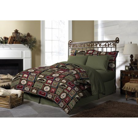 Forest Lodge Comforter Set by Pine Creek