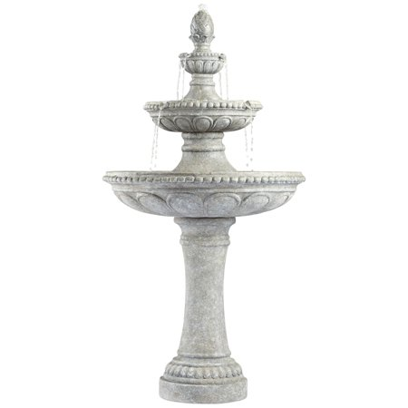 John Timberland Italian Outdoor Floor Water Fountain 44