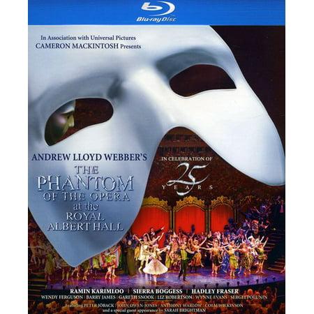 The Phantom of the Opera at The Royal Albert Hall (Blu-ray) (Phantom Of The Opera No Mask)