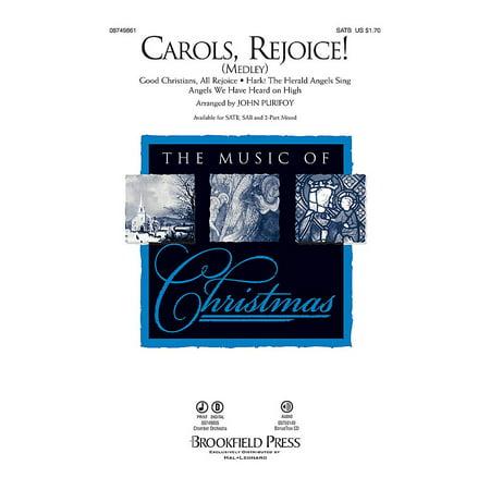 Carol Medley (Brookfield Carols, Rejoice! (Medley) 2 Part Mixed Arranged by John Purifoy )